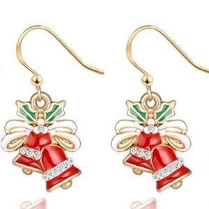 Bells holiday earrings